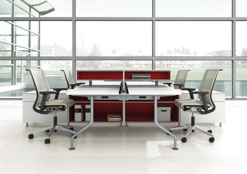 suelos radiantes diseño oficina