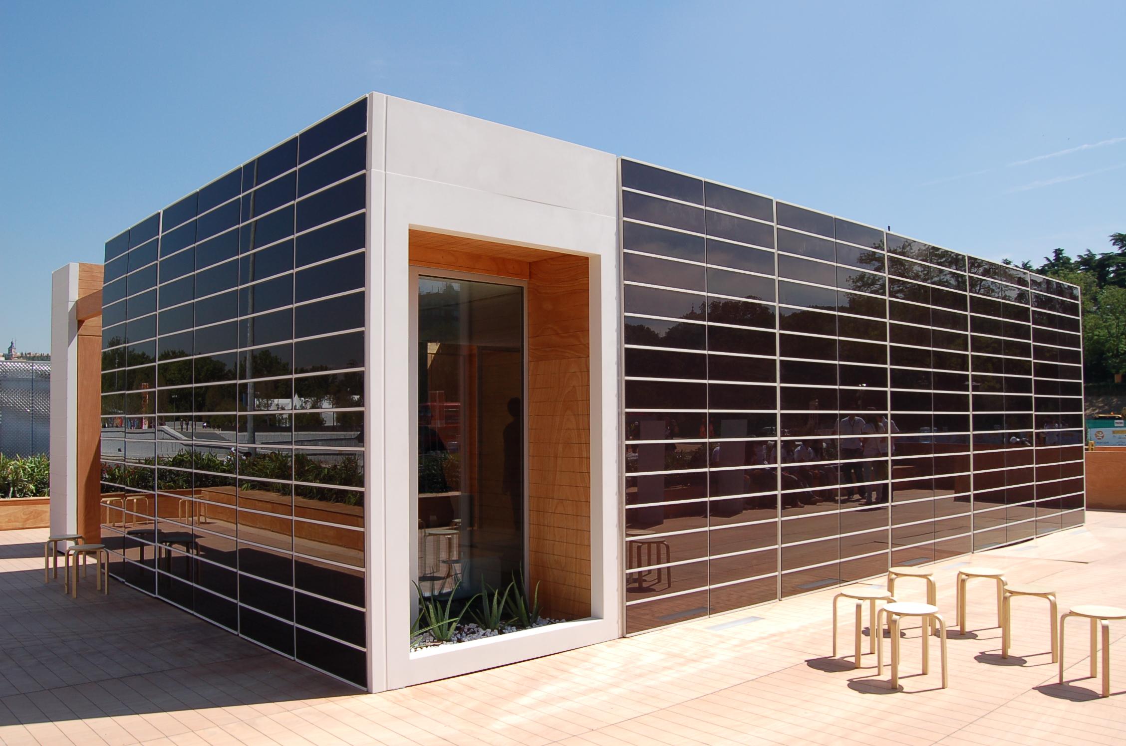 Fotovoltaica en fachadas