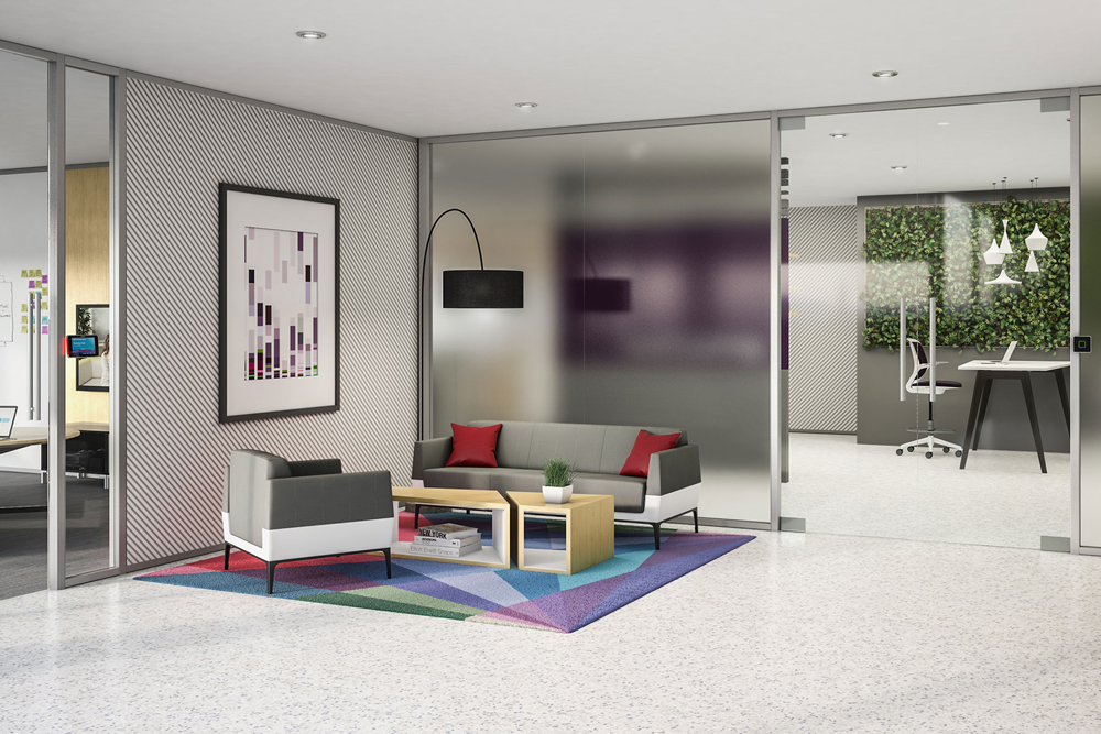 Diseño corporativo oficinas greendok